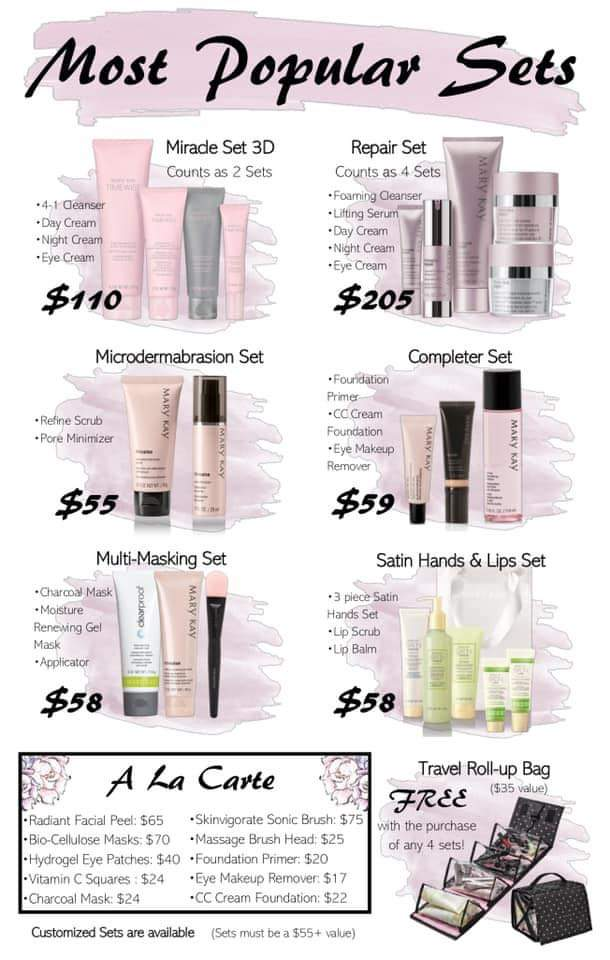 Mary Kay seriously obsessed with skincare!